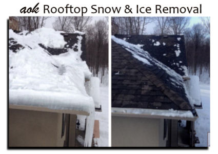 AOK Rooftop Snow and Ice Removal