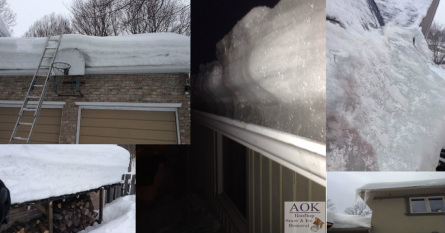 Aok Rooftop Snow Amp Ice Removal Services We Are Aok